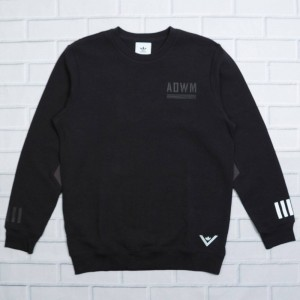 Adidas Men White Mountaineering Crew Sweatshirt (black)