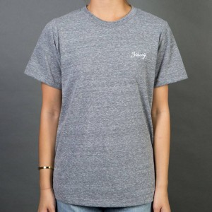 Stussy Women Champion Boyfriend Tee (gray / heather)