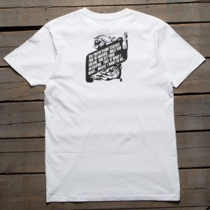 Paper Planes Men The Constitution Tee (white)