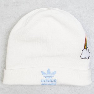 Adidas Big Kids Mini Rodini Beanie (white / off white / balgbl)