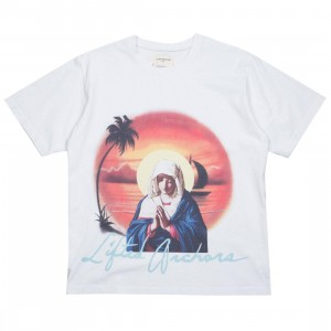 Lifted Anchors Men Divine Tee (white)