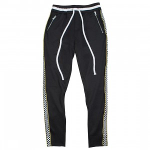 Lifted Anchors Men Jenner Pants (black / checkered)
