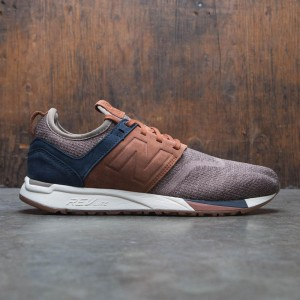 New Balance Men 247 Luxe Knit MRL247LB (brown / tan / nubuck)