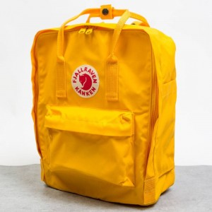 Fjall Raven Kanken Backpack (yellow / warm)