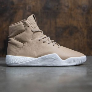 Adidas Men Tubular Instinct Boost (tan / brown / chalk white)