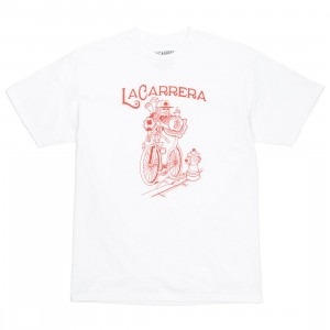 La Carrera Men The King Rides Again Tee - Japan (white / red)
