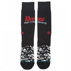 Stance Men Bone Thugs N Harmony Bone Thugs Socks (black)