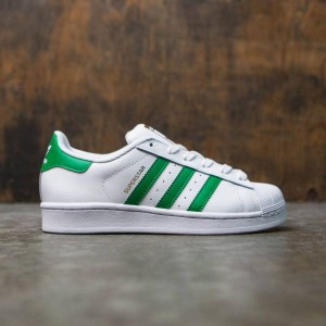 Adidas Women SUPERSTAR W (white / green / gold metallic)