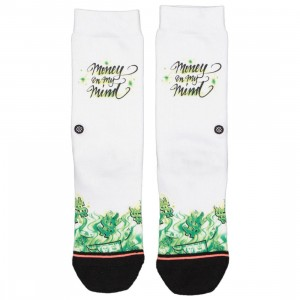 Stance Women Mind On Money Socks (white)