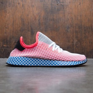 Adidas Men Deerupt Runner (orange / solar red / bluebird)