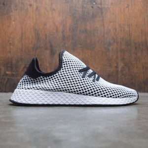 Adidas Men Deerupt Runner (black / core black / footwear white)