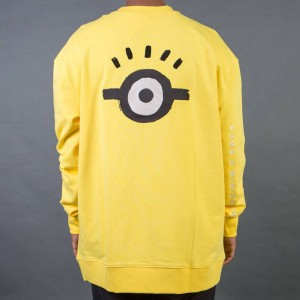 Puma x Minions Men Oversized Crew Neck Shirt (yellow)