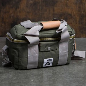 Poler Camera Cooler Bag (olive / burnt)