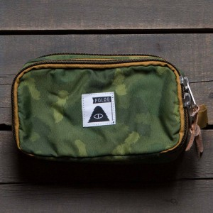 Poler Dope Dopp Kit (green / camo)