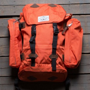 Poler Classic Rucksack Backpack (orange / burnt)