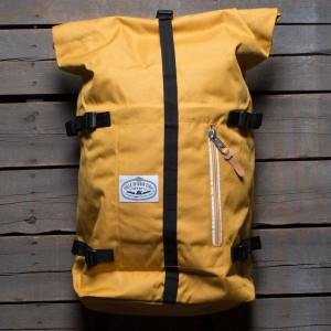 Poler Classic Rolltop Backpack (yellow / mustard)
