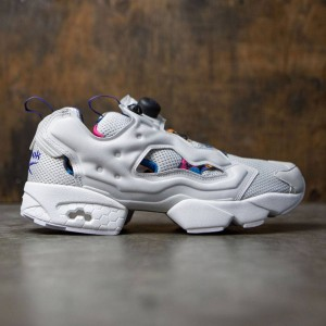 Reebok Men Instapump Fury AR (gray / white / team purple)