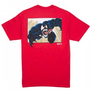 BAIT x Marvel Venom Men Comic Tee (red)