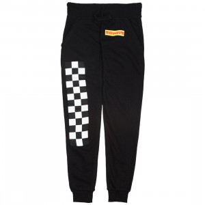 Dimepiece Women Dimepiece Checkers Sweat Pants (black)