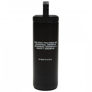 Dimepiece Growth Stainless Steel Water Bottle (black)