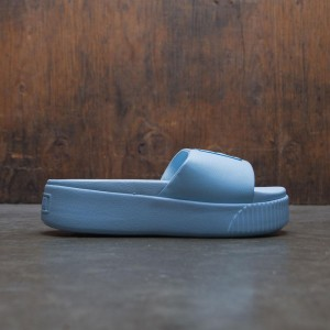 Puma Women Platform Slide (blue)