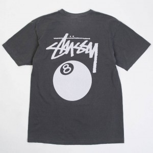 Stussy Men 8 Ball Pigment Dyed Tee (black)