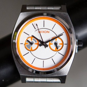 Nixon x Star Wars Time Teller Deluxe Watch - BB8 (silver / orange)