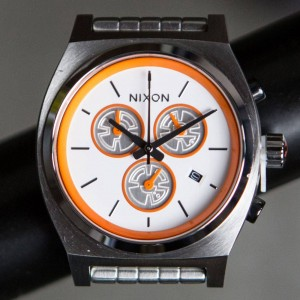 Nixon x Star Wars Time Teller Chrono Watch - BB8 (white)