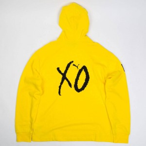 Puma x The Weeknd XO Men Oversized Hoody (yellow)