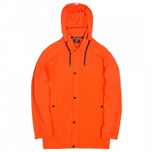 BAIT Men Nylon Windbreaker Jacket (orange)