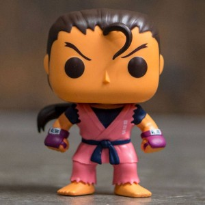 Funko POP Games Street Fighter - Dan (pink)