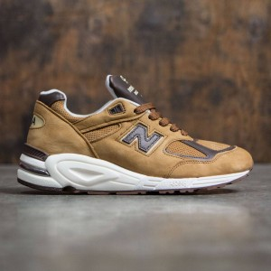 New Balance Men 990v2  M990DVN2 - Made In USA (brown / white)