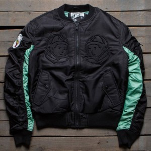 Billionaire Boys Club Men BB Ma-1 Jacket (black)