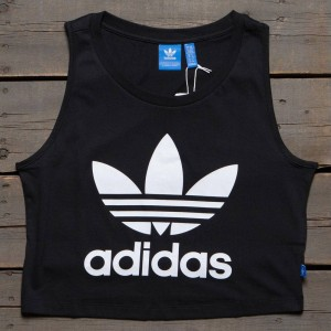 Adidas Women Loose Crop Tank Top (black)