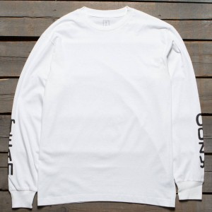 Team Cozy Men Logo Long Sleeve Tee (white)