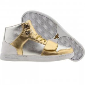 Creative Recreation Womens Cesario (gold / silver)