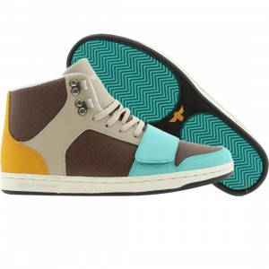Creative Recreation Womens Cesario (sepia / khaki / aqua)