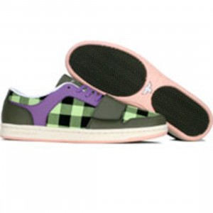 Creative Recreation Womens Cesario Low (military green / prp / grape / buff prt)