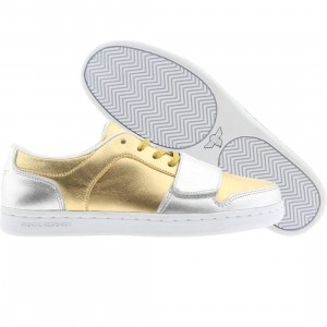 Creative Recreation Womens Cesario Low (gold / silver)