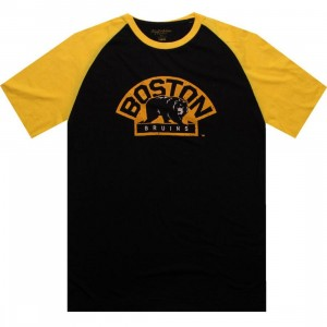 Wright And Ditson Boston Bruins Paratrooper Tee (black / gold)