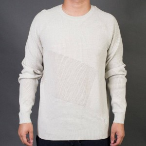 Adidas x Wings + Horns Men Patch Crew Sweatshirt (gray / hint fog)