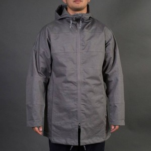 Adidas x Wings + Horns Men Tech Parka Jacket (gray / ash)