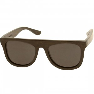 Woodzee Cardiff Bamboo Sunglasses (black)