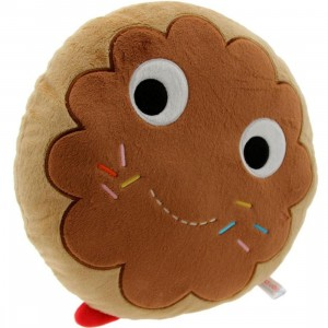 Kidrobot x Heidi Kenney Yummy Donut 12 Inch Plush (brown)