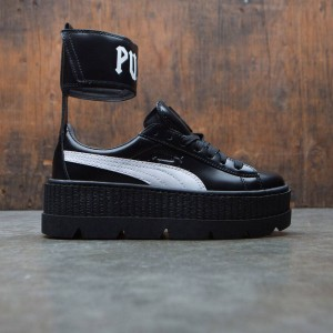 Puma x Fenty By Rihanna Women Ankle Strap Sneaker (black / white)
