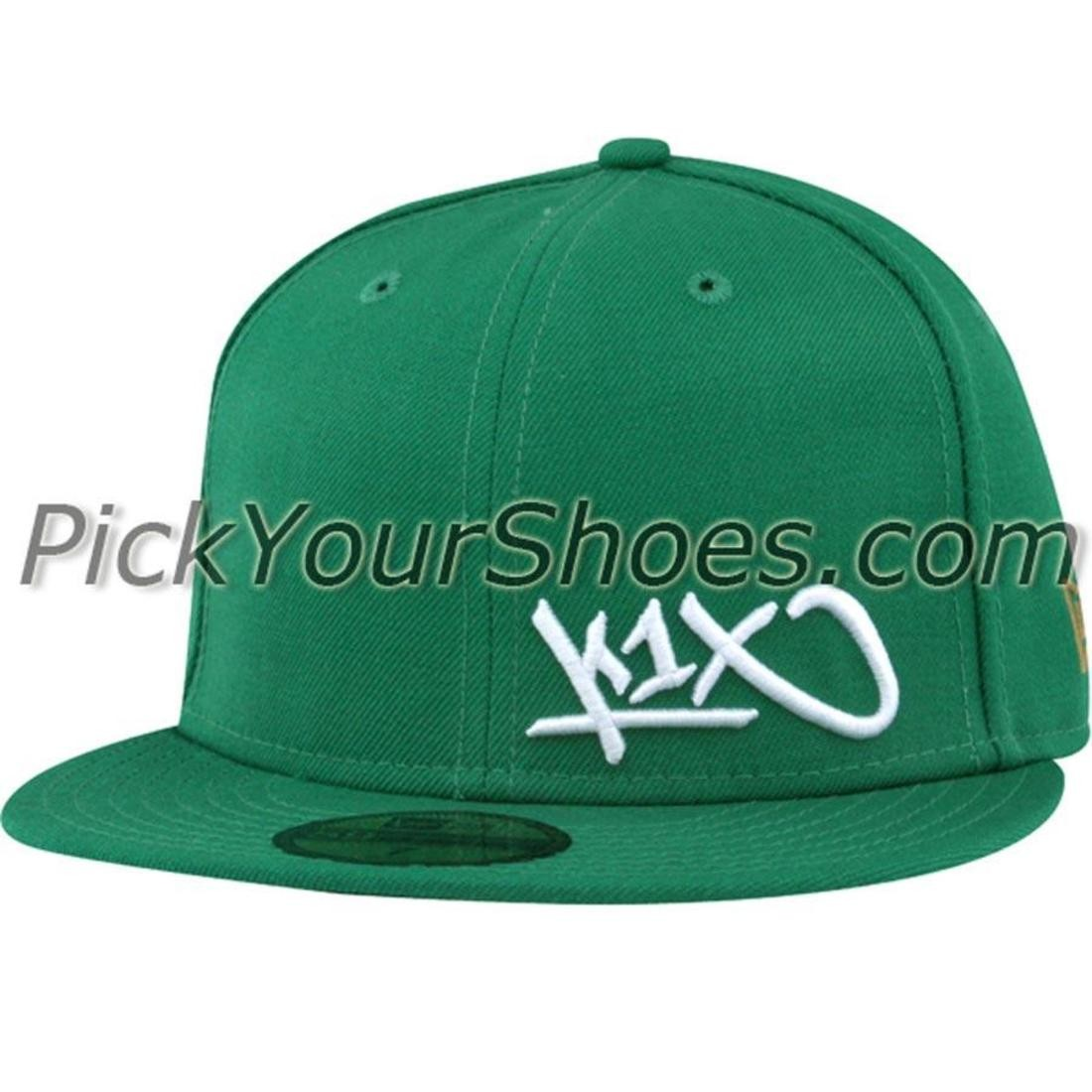 K1X Flawless Fitted Cap (boston green)