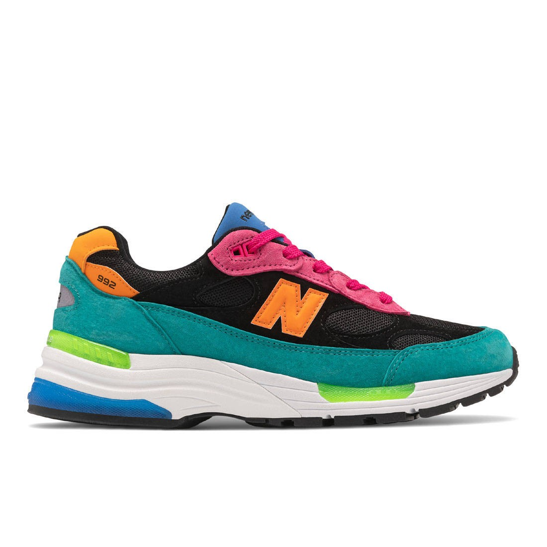 New Balance Men 992 M992RE - Made In USA (green / pink)
