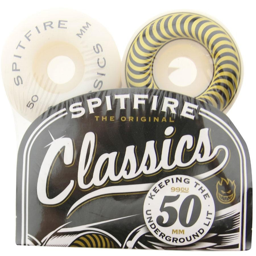 Spitfire Classic Wheels (yellow / white)