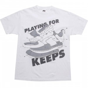 Playing For Keeps AF1 Dissect Tee (white)