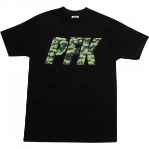 Playing For Keeps Stones PFK Tee (black / green)
